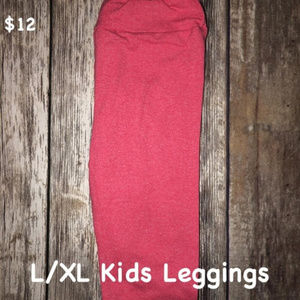 LuLaRoe Kids L/XL Leggings NEW